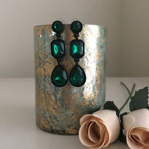 Baublebar Emerald Green Earrings